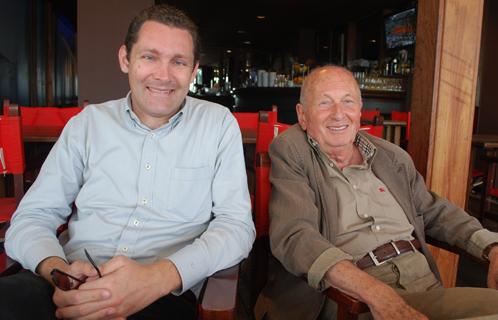 Arthur Paecht et son suppléant Erik Tamburi.