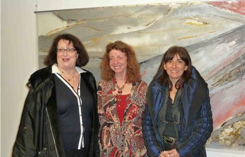 e90c568358 Carla van der Werf entourée de Dominique Ducasse et Jocelyne Caprile