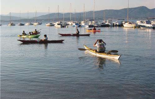 Kayak dans le var