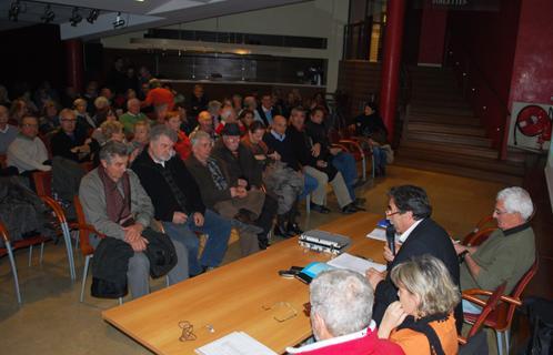 L'association STOP LGV Sanary a tenu lundi soir son assemblée générale.