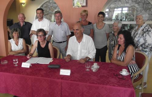 Lundi, le maire Ferdinand Bernhard a signé la délégation de service public avec la directrice générale déléguée de Medica France.