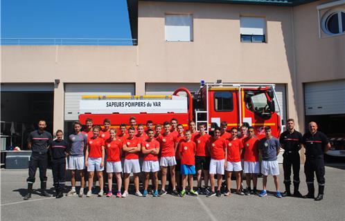 Six Fours Les Jeunes Sapeurs Pompiers En Examen