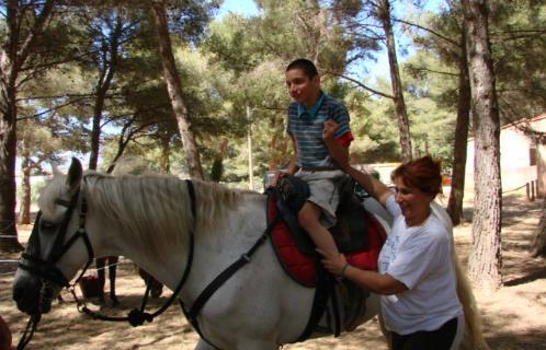 Rencontre entre handicapes--valides