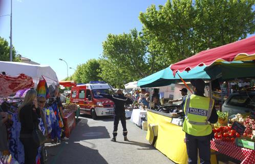 Sanary manoeuvre les pompiers imaginent un feu de - Office du tourisme de sanary sur mer ...