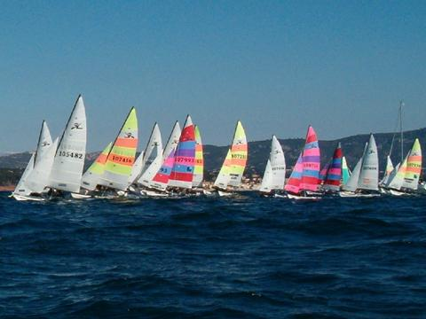 Coupe Nationale Six Fours Hobie Cat