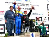 Un Six-Fournais second au championnat de France d'handikart
