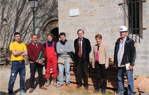 Six fours patrimoine la coll giale saint pierre bient t for Architecte six fours