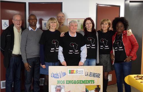 La joyeuse équipe de bénévoles de Bati Bati