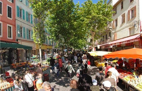 La seyne economie trois march s pour la ville - Office du tourisme de six fours ...