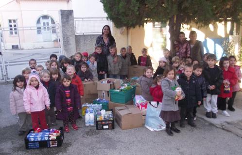 Sanary solidarit une montagne de colis pour les - Resto du coeur perpignan ...