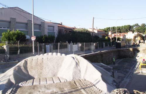 Le brusc une piscine olympique au mail - Dimension d une piscine olympique ...