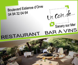 Un Coin de à Sanary, restaurant, bar à Vin.