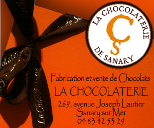 La Chocolaterie à Sanary sur Mer: Fabrication et vente de chocolat.